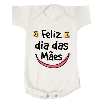 Body Bebê Infantil Feliz Dia Das Mães Presente Mamãe