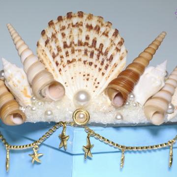 Coroa de Conchas - Sereia