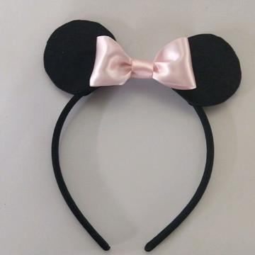 Tiara da Minnie - orelha com feltro