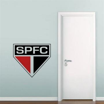 Adesivo Parede Futebol Decoração Escudo São Paulo
