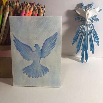Cartão: Pomba da paz