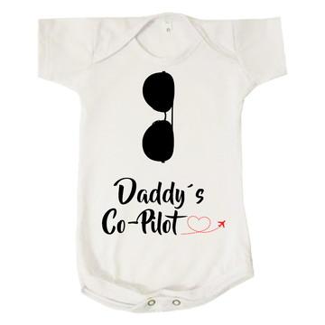Body Bebê Infantil Daddy's Co-Pilot Papai