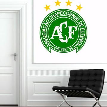 Adesivo Parede Futebol Decoração Escudo Chapecoense