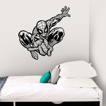 Adesivo Parede Decoração Homem Aranha Super Herói