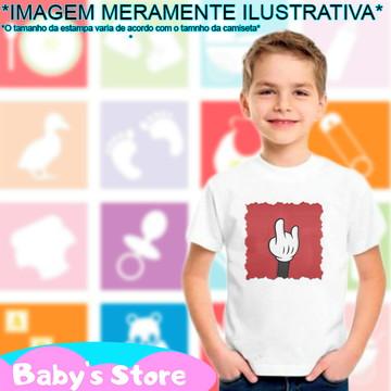 Camiseta infantil Mickey Disney