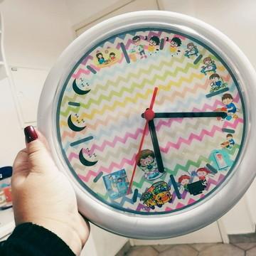 Relógio Rotina Infantil