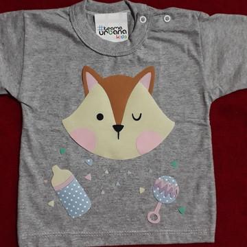 Camiseta Personalizada de Raposa