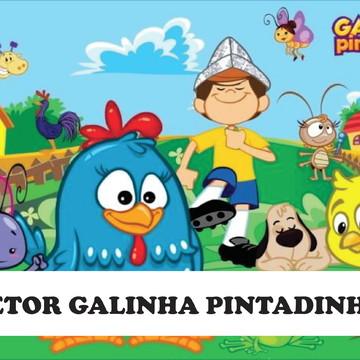KIT GALINHA PINTADINHA CORRIDA MALUCA 100% EDITÁVEIS