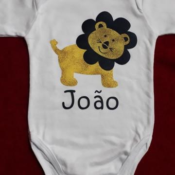 Body Personalizado de Leão com o nome