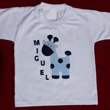 Camiseta Personalizada de Girafa