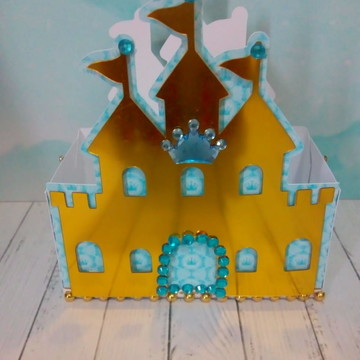 Caixa Castelo - Reinado Menino Luxo