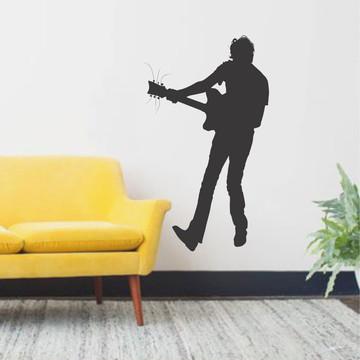 Adesivo Parede Decorativo Música Violão