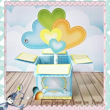 Caixa Surpresa Chuva de Amor