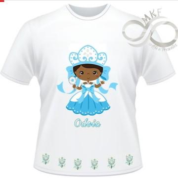 Camiseta Orixas Child - Iemanja