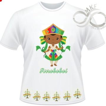 Camiseta Orixas Child - Oxumare