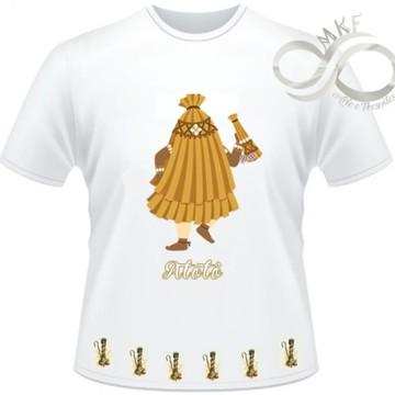 Camiseta Orixas Child - Obaluae