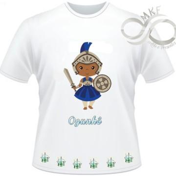 Camiseta Orixas Child - Ogum