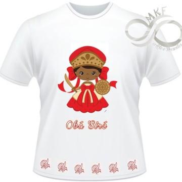 Camiseta Orixas Child - Obá