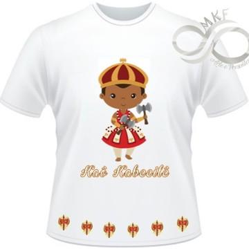 Camiseta Orixas Child - Xango