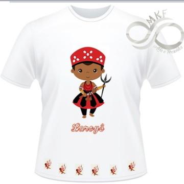 Camiseta Orixas Child - Exu