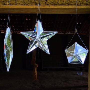 3 Prismas (Excalibur, Estrela de 5 Pontas e Pentágono)