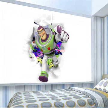adesivo de parede Buzz cabeceira de cama