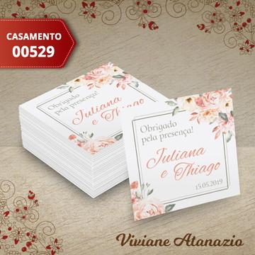 Adesivo Quadrado Casamento - 00529