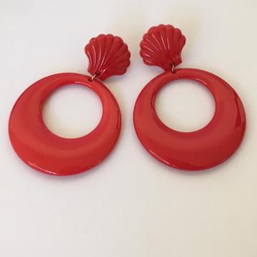 Brinco Maxi - Colorida - Vermelho