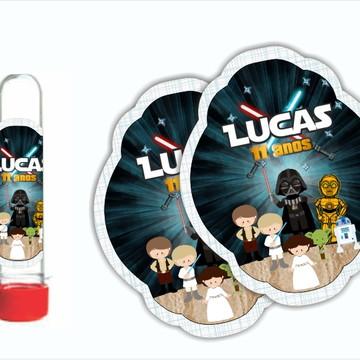 Adesivo para Tubete Star Wars
