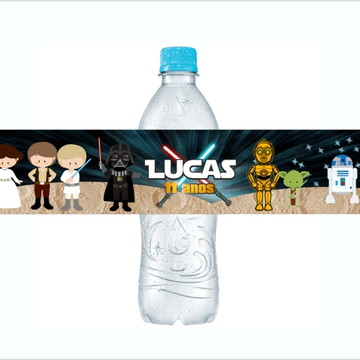 Adesivo para Agua Star Wars