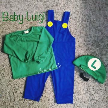 Fantasia baby Luigi mêsversario