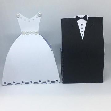 Caixinha casamento Noivo e Noiva