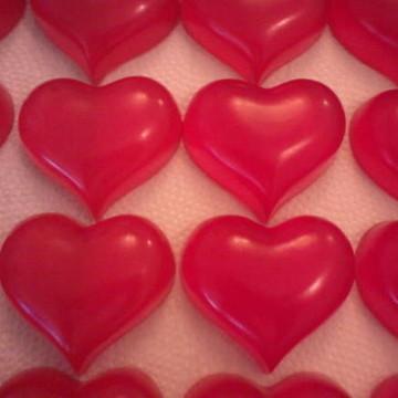 Sabonete de coração