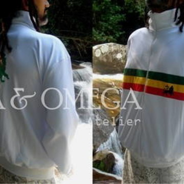 Jaqueta Reggae New Roots BRANCA