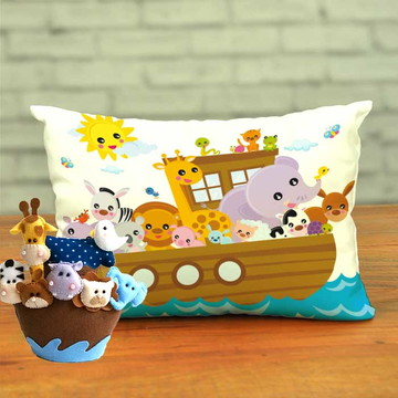 Almofadas Personalizadas Festa Arca de Noé