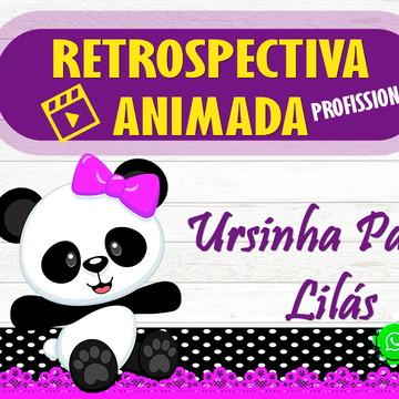 Retrospectiva Animada Ursinha Panda