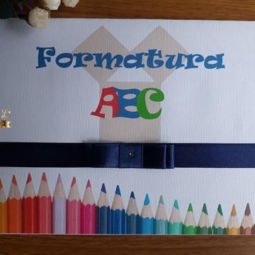 Convite de Formatura Infantil com Foto