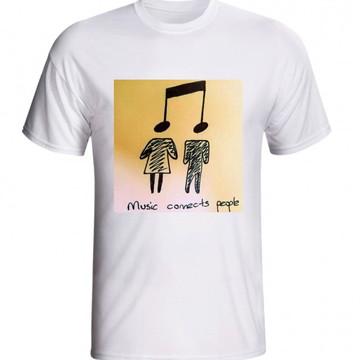 CAMISETA MUSICA E PESSOAS