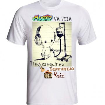 CAMISETA MUSICA NA VEIA SERTANEJA