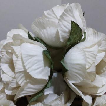 Forma em tecido Rosa