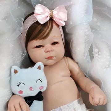 Bebê Reborn Corpo inteiro Articulada