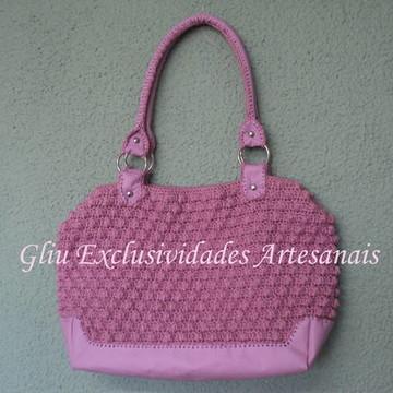 Bolsa D&G rosa