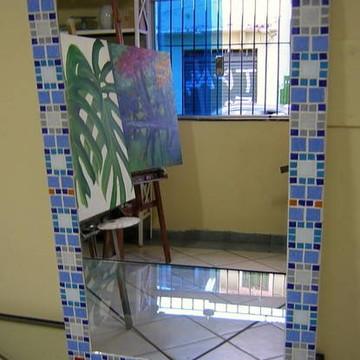 Espelho Mosaico 65 x 40
