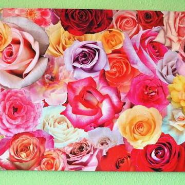 Painel das rosas