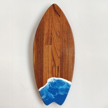 Tábua de prancha de surf com resina