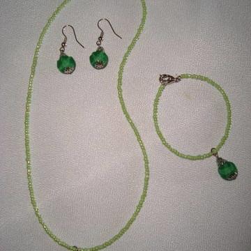 Conjunto Infantil Verde