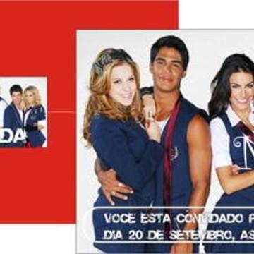 Convite Rebeldes Brasil