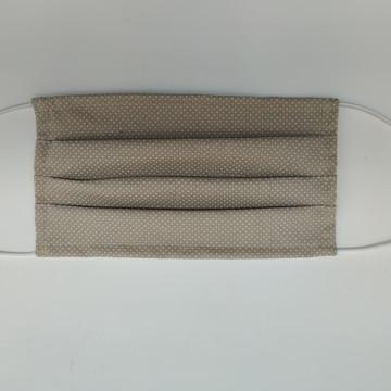 3 Máscaras Tecido duplo 100% Algodão Lavável e Reutilizável