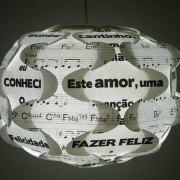 Luminária Letra e Música