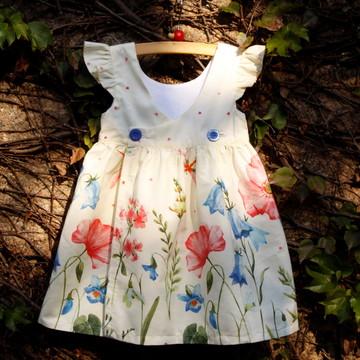 Vestido Floral Retrô